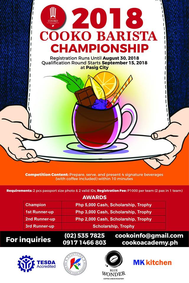 Cooko Barista Championship 2018