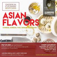 Asian Flavors: 5-Day Culinary Bootcamp