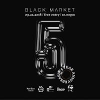 BLACK MARKET & FINDERS KEEPERS TURN 5 AT BLACK MARKET