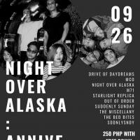 NIGHT OVER ALASKA ANNIVERSARY GIG AT SKINNY MIKE'S SPORTS BAR