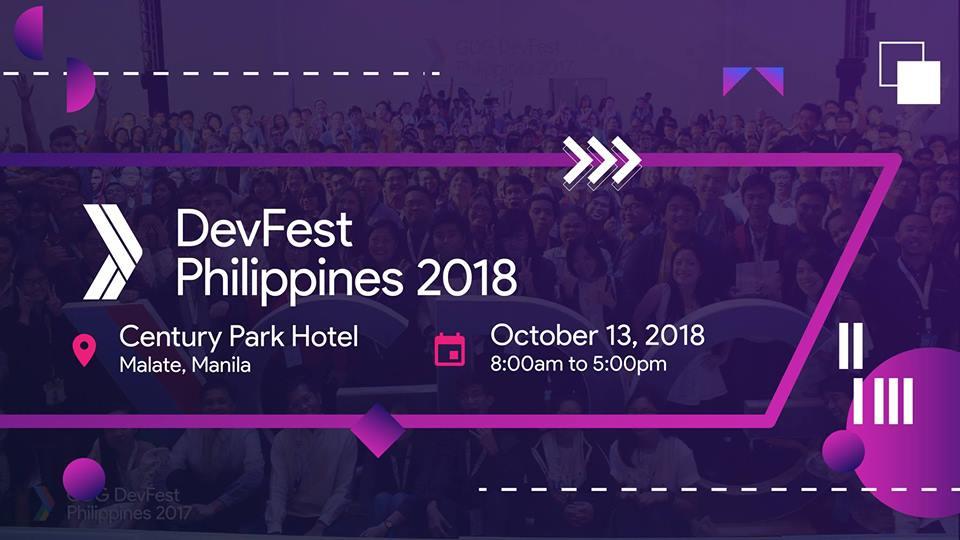 DevFest Philippines 2018