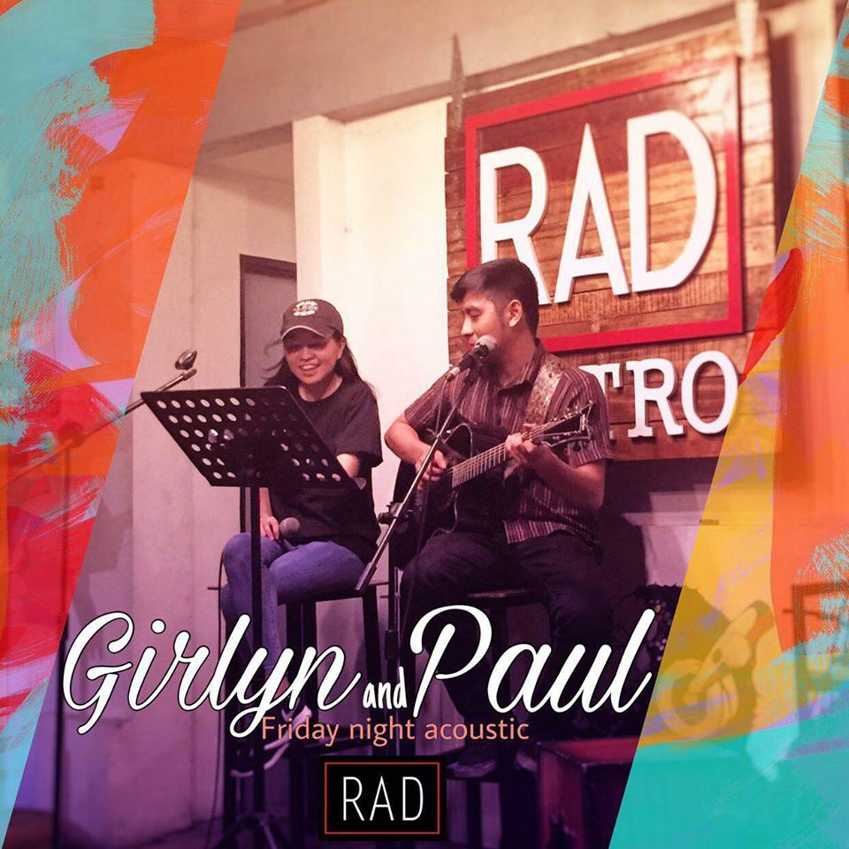 GIRLYN AND PAUL AT RAD BAR AND BISTRO