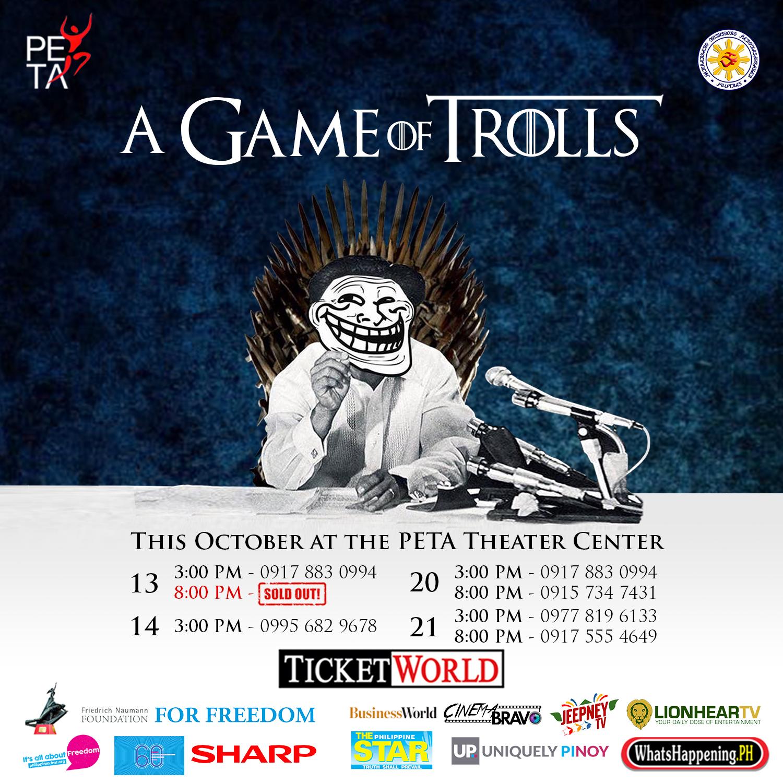 A Game Of Trolls