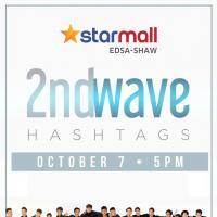 2NDWAVE HASHTAGS LIVE AT STARMALL EDSA-SHAW