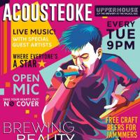 ACOUSTEOKE AT UPPERHOUSE