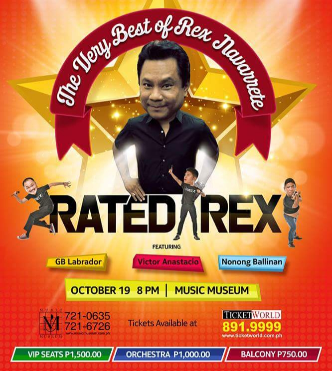 RATED REX The Very Best of Rex Navarrete