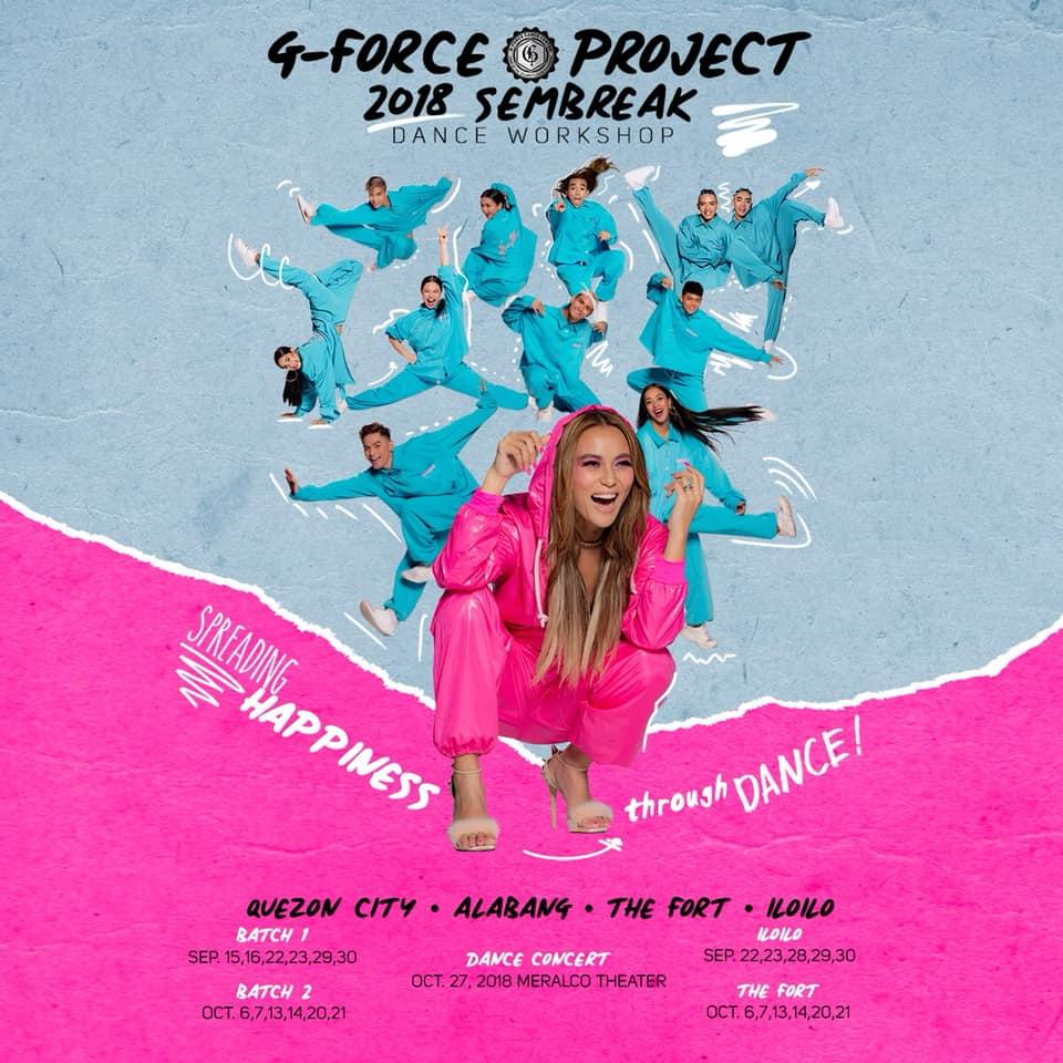 G-FORCE PROJECT 2018 SEMBREAK DANCE CONCERT