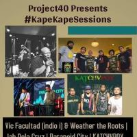 PROJECT40: #KAPEKAPESESSIONS AT SAGUIJO CAFE + BAR EVENTS