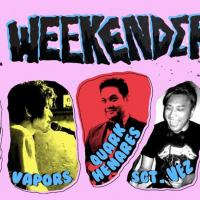 WEEKENDER WITH VAPORS, QUARK HENARES & SGT. VEZ AT 20:20