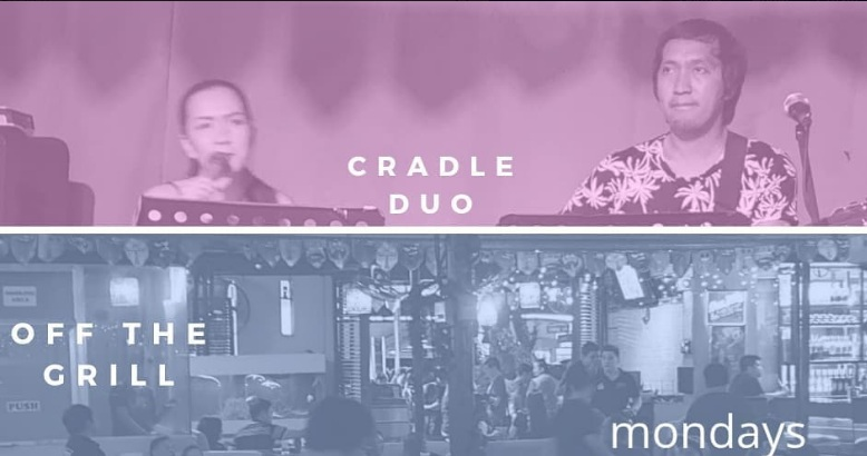 CRADLE DUO AT OFF THE GRILL BAR AND RESTAURANT