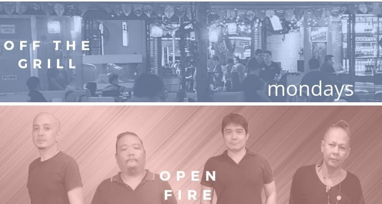 OPEN FIRE AT OFF THE GRILL BAR AND RESTAURANT