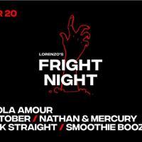 LORENZO'S FRIGHT NIGHT AT SAGUIJO CAFE + BAR EVENTS