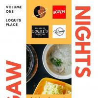 LUGAW NIGHTS : FUND RAISING EVENT AT LOQUI'S PLACE
