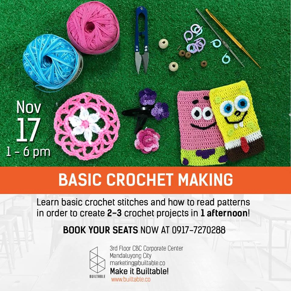 Basic Crochet Workshop
