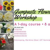 GUM PASTE FLOWERS WORKSHOP