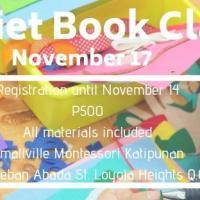 Quiet Book Class