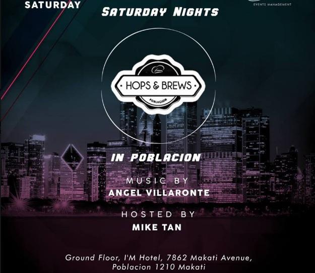 SATURDAY NIGHT PARTY AT HOPS AND BREWS