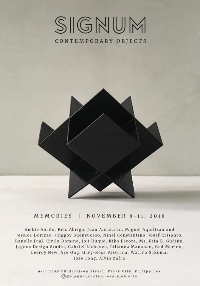Memories: A Contemporary Objects Exhibition