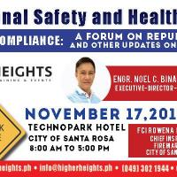 A Forum on Occupational Safety and Health Law 2018