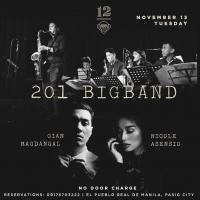201 BIG BAND AT 12 MONKEYS MUSIC HALL & PUB