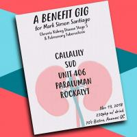 A BENEFIT GIG FOR MARK SANTIAGO AT THE 70'S BISTRO
