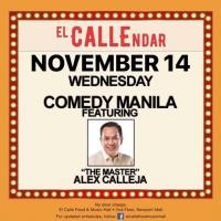 ALEX CALLEJA AT EL CALLE FOOD AND MUSIC HALL