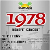 1978 BENEFIT CONCERT AT HISTORIA BOUTIQUE BAR AND RESTAURANT