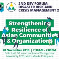 2nd Dev Forum: Preparing for a Disaster-ready Asia