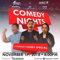 COMEDY NIGHTS AT FORAGE