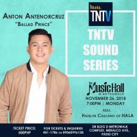 ANTON ANTENORCRUZ AT THE MUSIC HALL