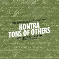 BLUES ROCK WEDNESDAY WITH KONTRA AND TONS OF OTHERS AT THE MINOKAUA