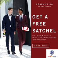 GET A FREE SATCHEL!