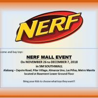 NERF MALL EVENT