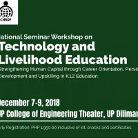 NATIONAL SEMINAR WORKSHOP ON TECHNOLOGY AND LIVELYHOOD EDUCATION