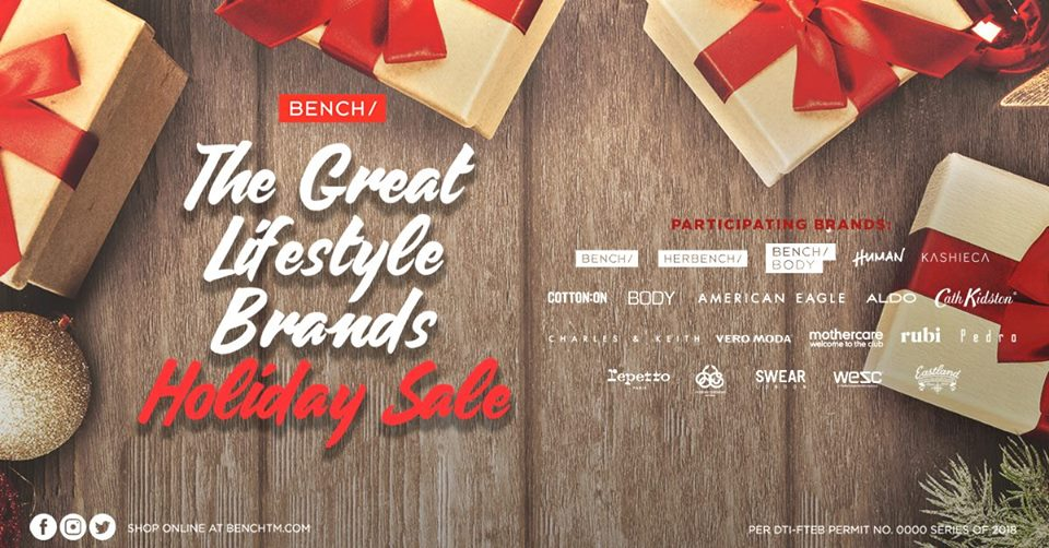 THE GREAT LIFESTYLE BRANDS HOLIDAY SALE!