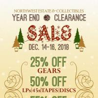 2018 YEAR END SALES EVENT!
