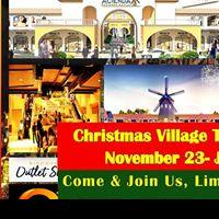 CHRISTMAS VILLAGE THEMED BAZAAR ACIENDA