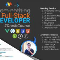 FROM NOTHING TO FULL STACK DEVELOPER