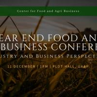 YEAR END FOOD AND AGRIBUSINESS CONFERENCE 2018