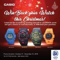 CASIO G-SHOCK WATCH!