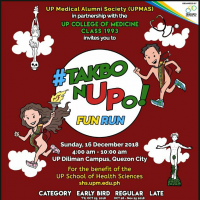 UPMAS FUN RUN 2018 IN UP DILIMAN