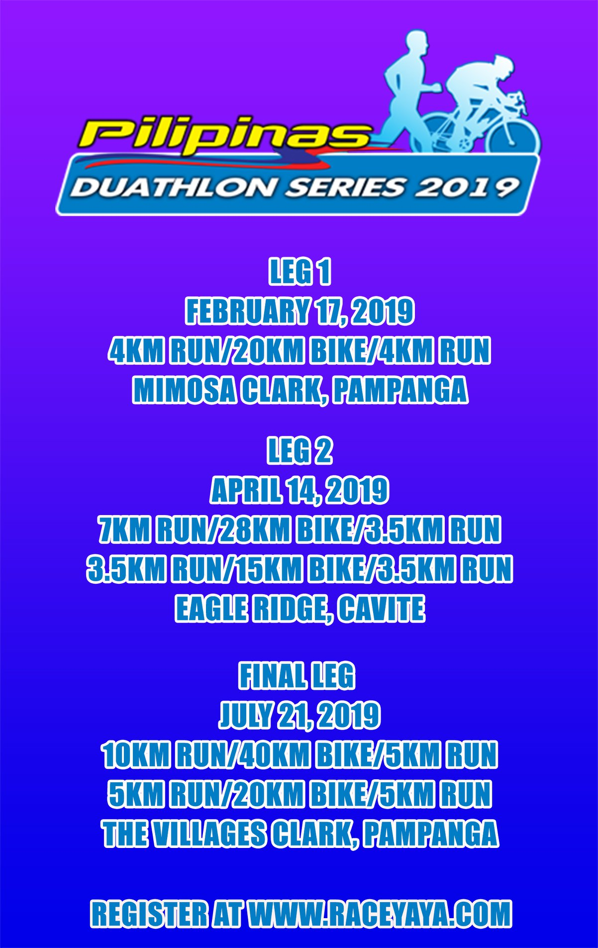 PILIPINAS DUATHLON SERIES 2019 FINAL LEG