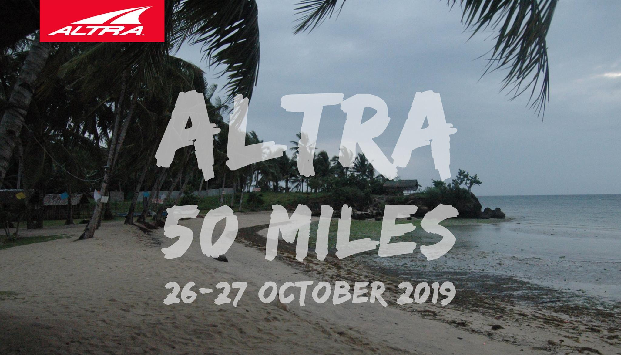 ALTRA 50 MILES - Cebu