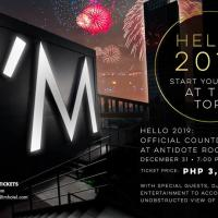 HELLO 2019: NEW YEAR COUNTDOWN PARTY