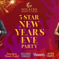 SOLAIRE'S 5- STAR NEW YEAR'S EVE PARTY