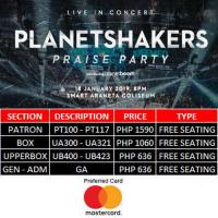 PLANETSHAKERS PRAISE PARTY WITH PLANETBOOM