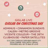 GIGLAB ON CHRISTMAS DAY AT SAGUIJO CAFE + BAR EVENTS