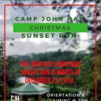 CAMP JOHN HAY CHRISTMAS SUNSET RUN