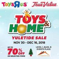 TOYS AND HOME YULETIDE SALE!