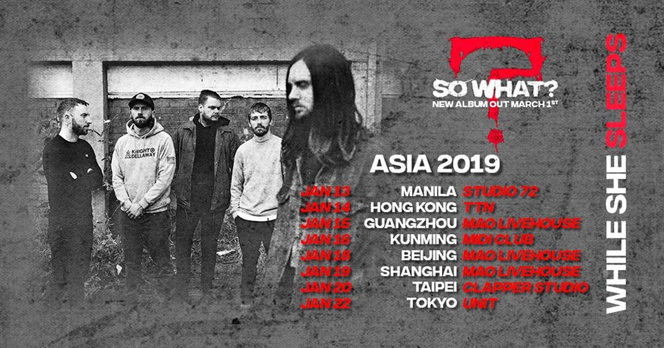 SO WHAT ASIA TOUR